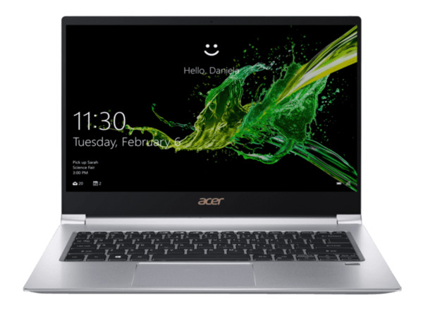 ACER Swift 3 (SF314-55-58CX), Notebook mit 14 Zoll Display, Core™ i5 Prozessor, 8 GB RAM, 256 GB SSD, GeForce® MX150, Silber