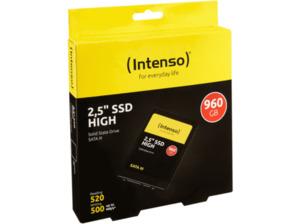INTENSO 960 GB SSD, 960 GB SSD, 2.5 Zoll, intern