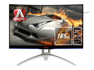 AOC AG272FCX6  27 Zoll Full-HD Gaming Monitor (4 ms Reaktionszeit, FreeSync, 165 Hz)