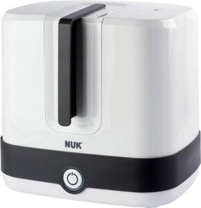 NUK Vario Express Dampf Sterilisator Babyflaschensterilisator Weiß, Schwarz