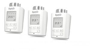 AVM FRITZ!DECT Heizungssteuerung Thermostat ,  3er Set, Heizprofil per Maß