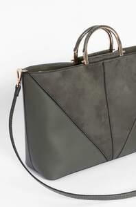 Shopper mit Metall-Details