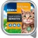 Bild 1 von EDEKA Feine Happen Sensitiv Pute und Reis Katzenfutter nass 100 g