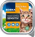Bild 2 von EDEKA Feine Happen Sensitiv Pute und Reis Katzenfutter nass 100 g
