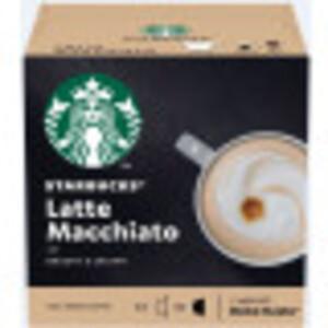 Starbucks Latte Macchiato Kaffeekapseln 6x 16 g + 5,5 g