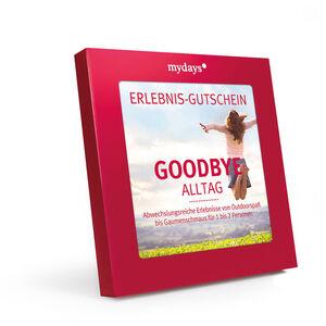 Gutscheinbox Goodbye Alltag - nur in Deutschland erhältlich