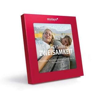 Gutscheinbox Erholsame Zweisamkeit - nur in Deutschland erhältlich