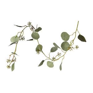 Girlande Eukalyptus, L:90cm, grün