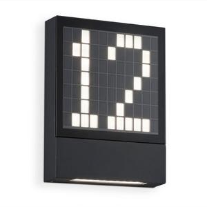 Helestra LED-Außenwandleuchte Dial