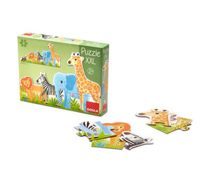 Goula Puzzle XXL »Dschungel«