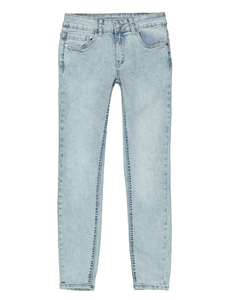 Mädchen Skinny Fit Jeans im Bleached-Look