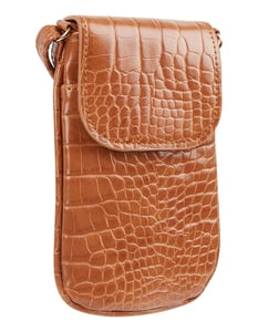 Damen Handytasche in Kroko-Optik