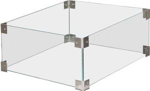 Clifton Glasaufsatz Compact Squar, 35 x 35 cm