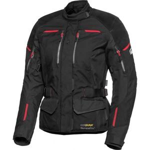 FLM Touren Damen Leder-/Textiljacke 4.0 schwarz Größe XS