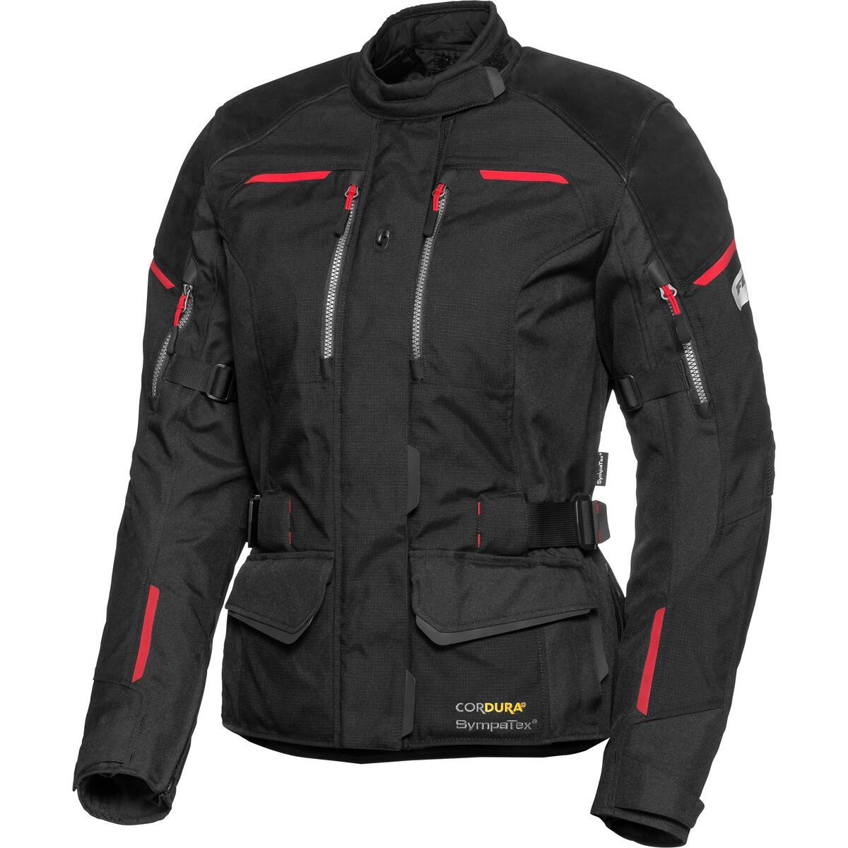 Bild 2 von FLM Touren Damen Leder-/Textiljacke 4.0 schwarz Größe XS