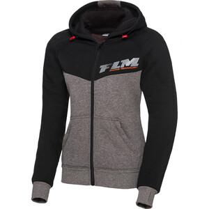 FLM            Sports Damen Hoodie mit Protektoren 1.0 schwarz/grau