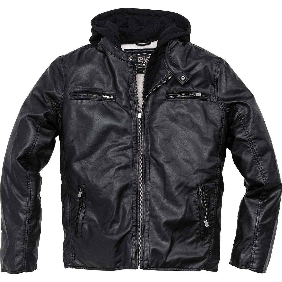 Bild 2 von Spirit Motors Freizeit-Urban Jacke 1.0 schwarz Herren Größe M
