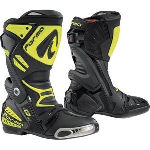 Ice Pro Stiefel Motorradstiefel gelb Herren Größe 47
