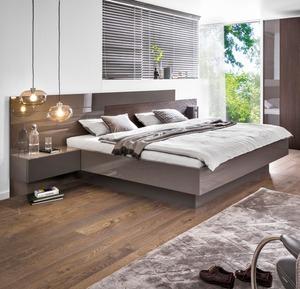 Sormani Bett mit Nachttischen Artano 180 x 200 cm