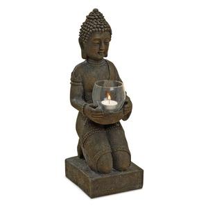BOLTZE Windlicht Buddha 44 cm