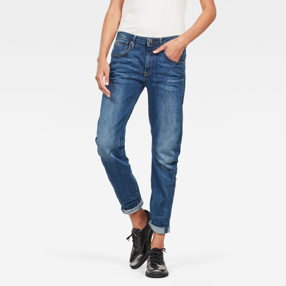 Bild 1 von Arc 3D Low Waist Boyfriend Jeans