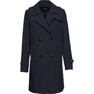 manguun collection Trenchcoat, Klappentaschen, für Damen
