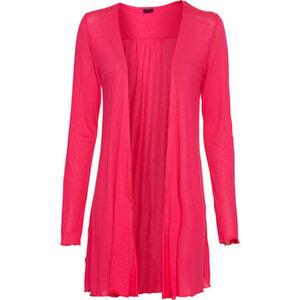 s.Oliver Black Label Jersey Jacke, Wellsaum, halbtransparent, für Damen