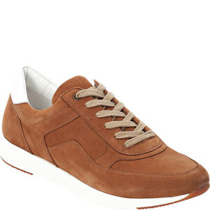 manguun Sneaker, Leder, zweifarbiges Design, für Herren