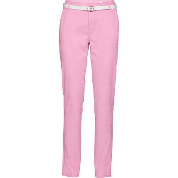 s.Oliver Smart Chino, Stoffgürtel, relaxed fit, pastell, für Damen