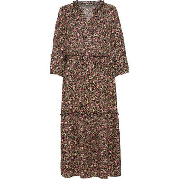 Only Kleid, 3/4 Ärmel, Rüschen, Tunikaausschnitt, für Damen