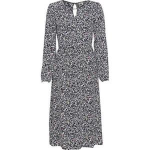 Tom Tailor Denim Kleid, Gummibündchen, Cut Out am Ausschnitt, für Damen