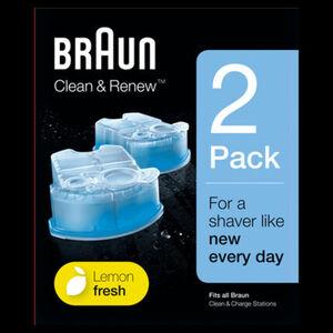 Braun Reinigungskartuschen Clean&Renew CCR 2 - 2er Pack