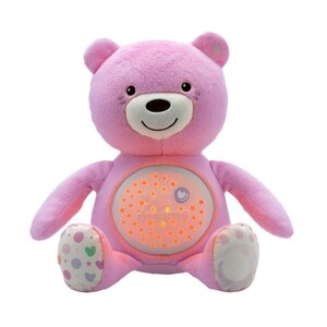 Chicco - First Dreams Nachtlicht: Baby Bär, pink