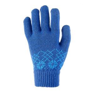 Handschuhe Strick MH100 Kinder blau