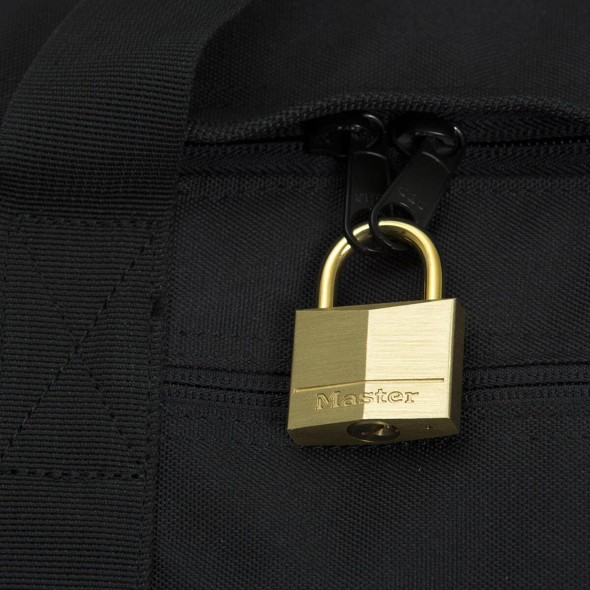 Bild 4 von TRAVEL Vorhängeschloss für Koffer 35 mm Messing mit Schlüssel