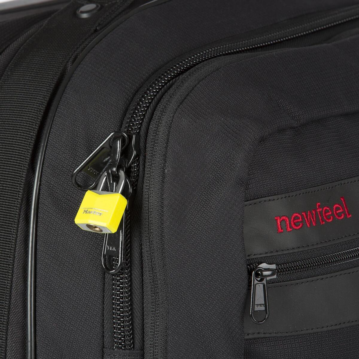 Bild 4 von 2 Gepäckschlösser + Schlüssel 30mm gelb