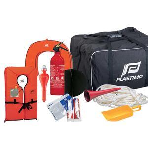 Tasche mit Sicherheitsausrüstung Segeln für 6 Personen bis 6-Meilen-Zone