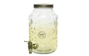 Kaemingk - Kaemingk Getränkespender aus Glas, 3,8 l