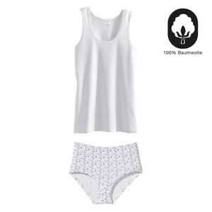 Damen- oder Herren-Unterwäsche 100% Baumwolle, Feinripp, versch. Modelle und Größen, je 5er-Pack