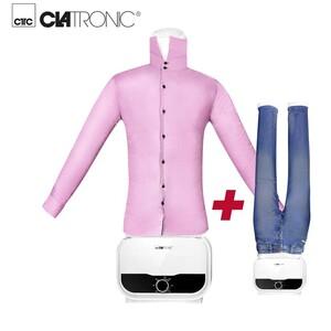 Hemden-/Blusen- und Hosenbügler HBB 3734 · Bügelpuppe für knitterfreie Hemden, Blusen, Shirts und Hosen  · zeit und energiesparend · stunfeloser 180 Minuten Timer