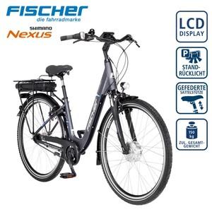 Alu-Elektro-Citybike ECU 1401 28er - Fahrunterstützung bis ca. 25 km/h - Li-Ionen-Akku mit hochwertigen Markenzellen 36 V/14,5 Ah, 522 Wh - Reichweite: bis ca. 140 km (je nach Fahrweise) - wartungsf