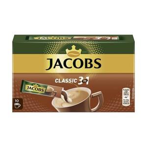 Jacobs Löslicher Kaffee 3 in 1, 2 in 1, löslicher Cappuccino oder Espresso versch. Sorten, jede 10er = 115,2/144/140/180-g-Packung/jede 25er=45-g-Packung