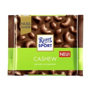 Ritter Sport Tafelschokolade Nuss Klasse oder Kakaoklasse versch. Sorten, jede 100-g Tafel