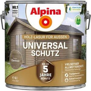 Alpina Universal-Schutz Ebenholz 4 l