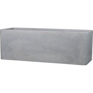 Scheurich Pflanzgefäß Plaza Box 79 cm x 29 cm 27,5 cm Stony Grey