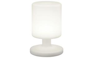Reality Leuchten - LED-Außenleuchte Barbados in weiß, Zylinder