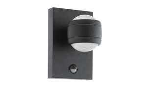 Eglo - LED-Außen-Wandleuchte Sesimba 1 in schwarz