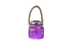 Paul Neuhaus - LED-Solarleuchte Solar in purpur/violet, 11,5 cm