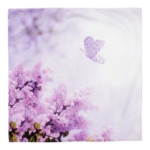Kissenhülle mit Frühlingsdesign, ca. 50x50cm