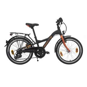 City Bike Kinderfahrrad 20 Zoll D4 Rock schwarz/orange